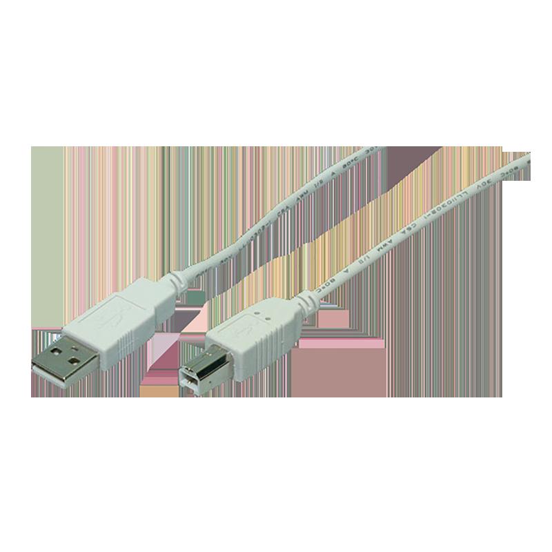 logilink produkt kabel usb 2 0 anschluss a b 2x stecker grau 1 80 meter. Black Bedroom Furniture Sets. Home Design Ideas